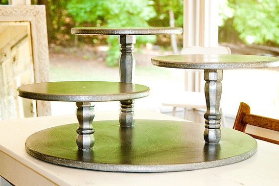 Cake stand....I think I could make that....love it!!