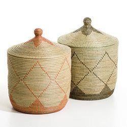 Panier paille de riz, Louna AM.PM