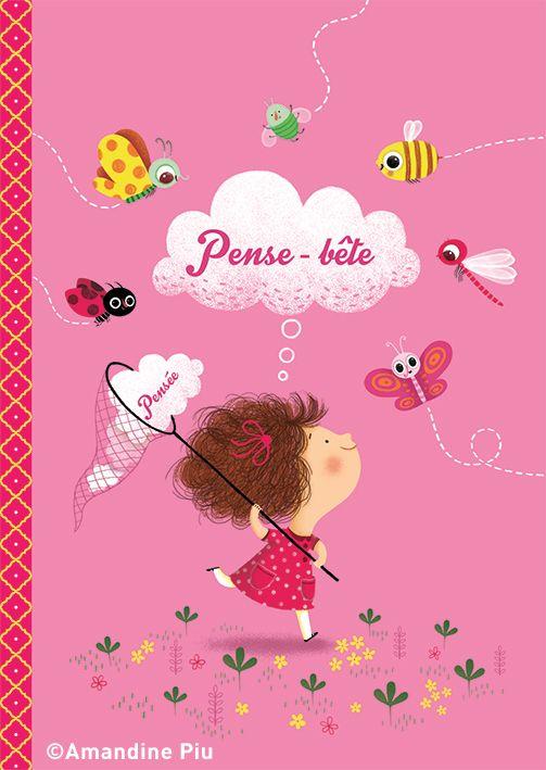 Amandine Piu- cahier Little extra