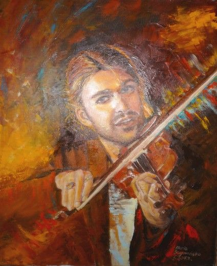 skrzypek virtuoz - from http://www.touchofart.eu/en/Maria-Szymanska/mszym21-skrzypek-virtuoz/