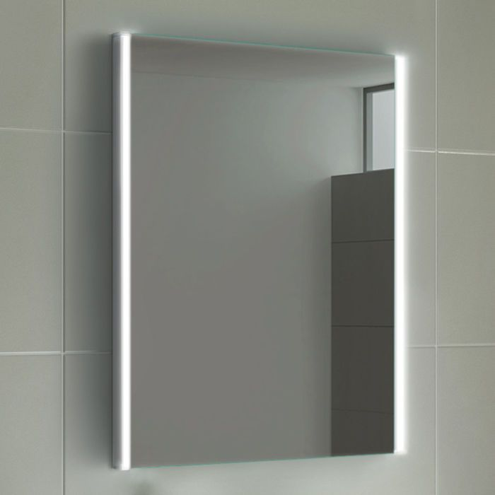 Illuminated Sides Led Mirror 450x600 Bathroom Mirror Soak Com Bathroom Mirror Led Mirror Bathroom Illuminated Bathroom Cabinets