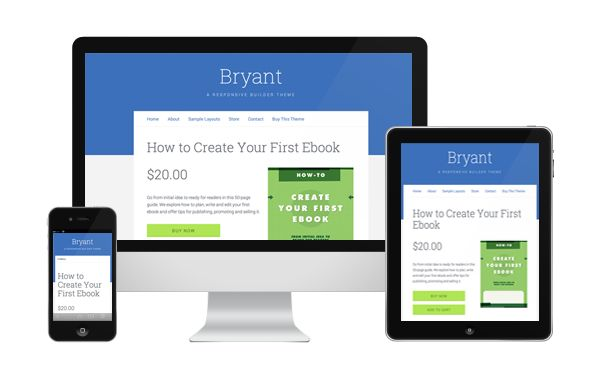 Bryant Theme Review - iThemes