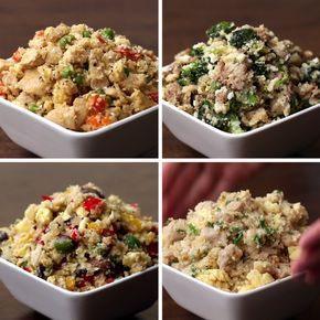 Fried Rice 4 Ways