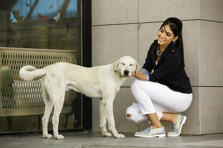 Everlasting combination / Black jacket and white jeans /  Even dogs love it :)) / visit us @ gobyeurope.com