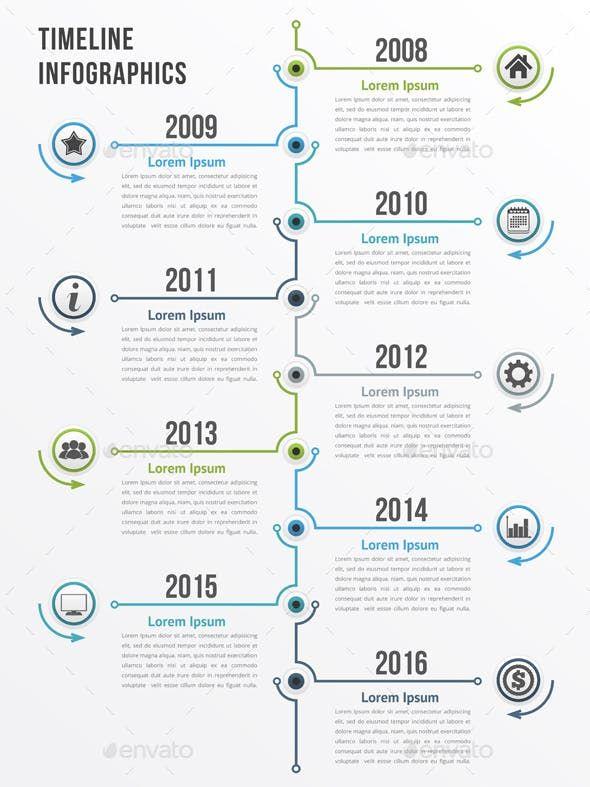 Timeline Zeitleiste Zeitleiste Design Datenvisualisierung
