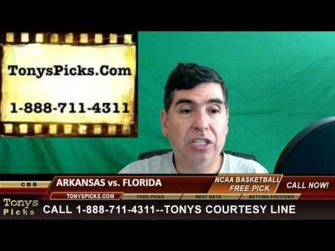 Arkansas Razorbacks vs. Florida Gators Pick Prediction College Basketbal...