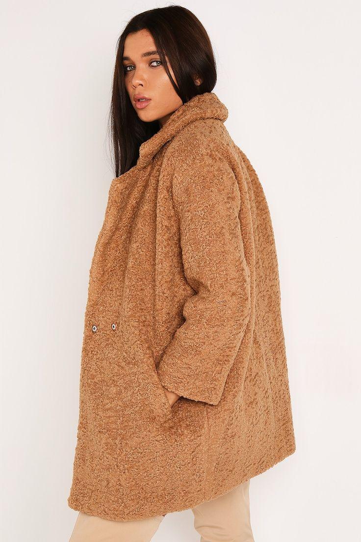 Brown Teddy Coat - Clothing | LASULA