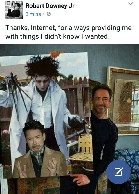 RDJ is a gift