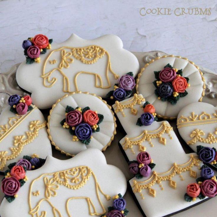 インドの結婚式風クッキーの画像 | ~Cookie Crumbs~クッキー・クラムズのアイシングクッキー