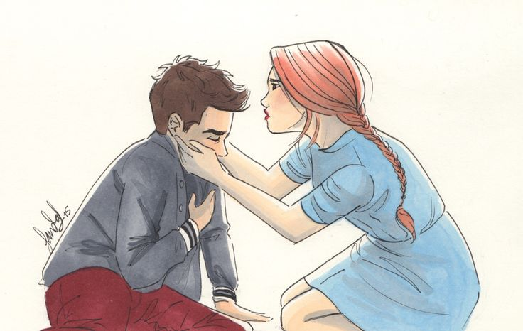 #stydia #fanart Stiles Stilinski and Lydia Martin #TeenWolf