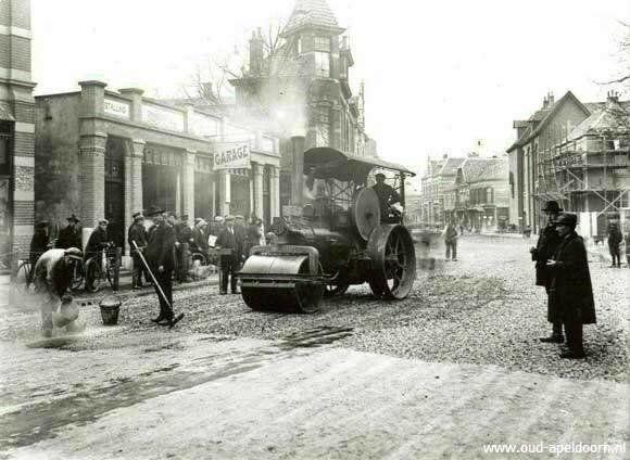 Hoofdstraat Apeldoorn (jaartal: 1920 tot 1930) - Foto's SERC