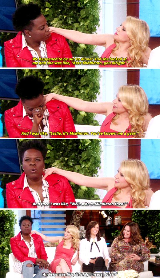 This example of why her friendship with Leslie Jones is one for the ages.