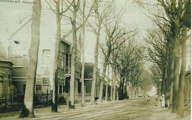 Tilburgseweg. Villa van Jan Rens latere burgemeester van Goirle anno 1910 (Nu restaurant De Eetkamer)