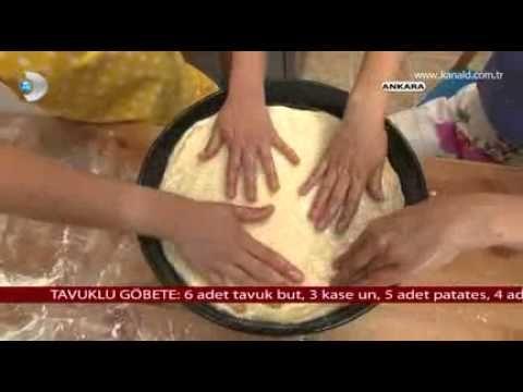 Tavuklu Göbete Tarifi - YouTube
