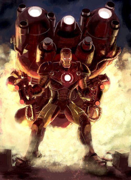 104 geniales ilustraciones de Iron Man [Megapost]