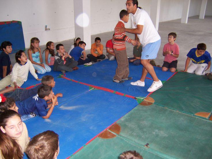 Lucha Canaria: Origen, introducción y nociones básicas de nuestro deporte autóctono por excelencia. Colegio de Adeje