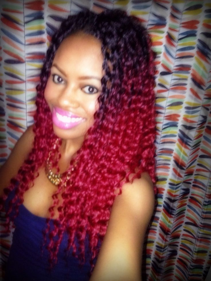 Crochet Braids Red Hair : ... Crochet, Crochet Braids Deep Twist, Crochet Hair Style, Crochet Braids