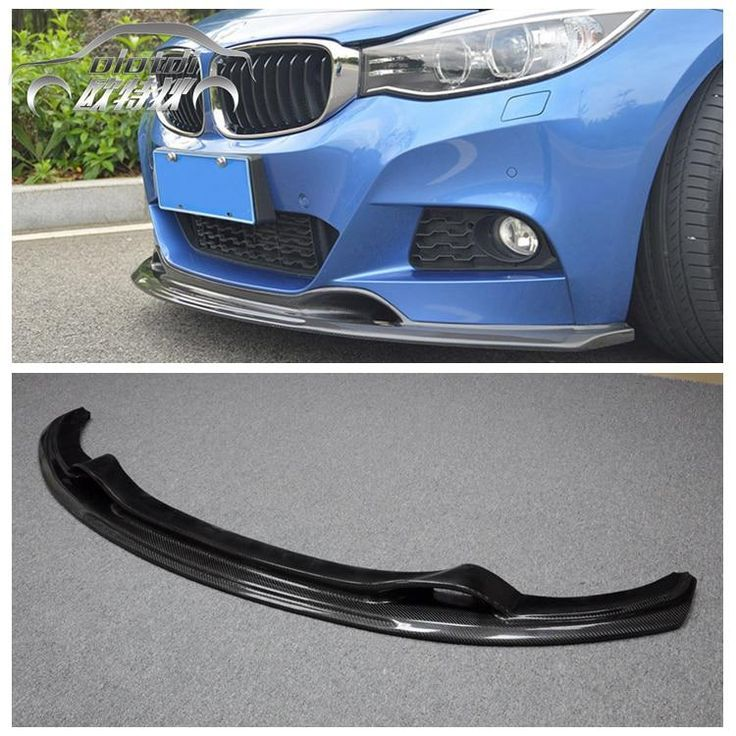 Carbon Fiber Front Bumper Lip Spoiler Chin for BMW 3
