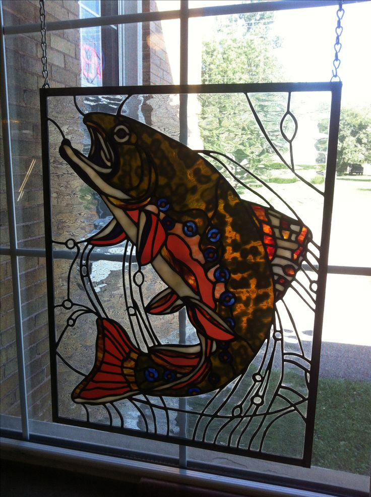 17 Best Images About Stained Glass Fish Amp Other Marine Life On Pinterest Bass Tropical Fish