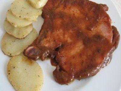 Receta de Chuleta de Cerdo en Salsa Agridulce