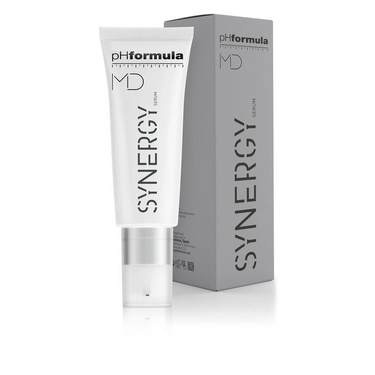 SYNERGY serum  is a multifunctional treatment serum with a unique blend of actives to address severe cases of ageing and hyperpigmentation - application by medical professionals only! #MDskinresurfacing #advancedskincare #physicians #loveyourskin