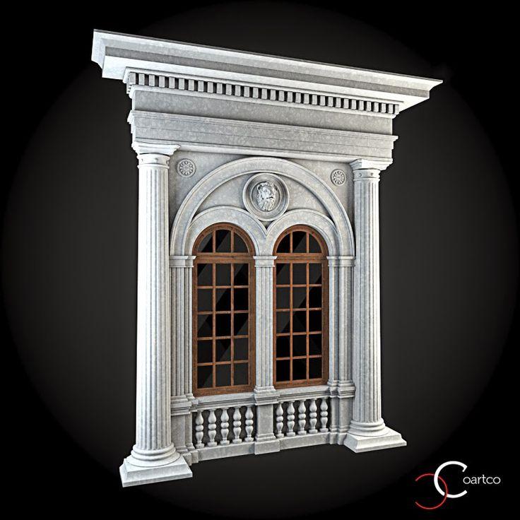 Ornamente Geamuri Exterior Cod Win 034 Profile Decorative Ferestre Pinterest Exterior