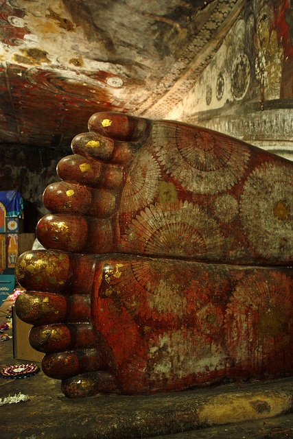 Dambulla Cave Temple - Sri Lanka..by Mijkra