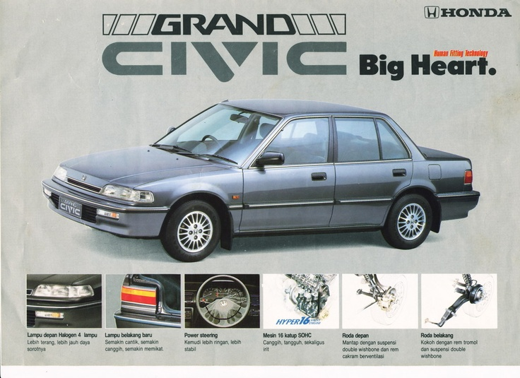 1990 Honda Grand Civic