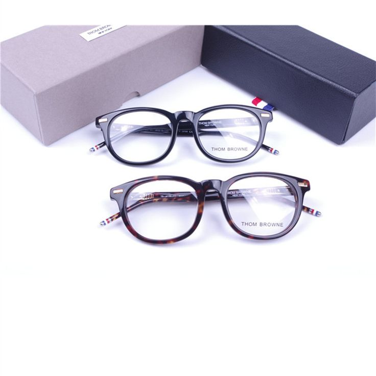 Retro Round Frame Thom Browne glasses frame for men or women TB-403C eyeglasses frame Oculos myopia eyewear original package