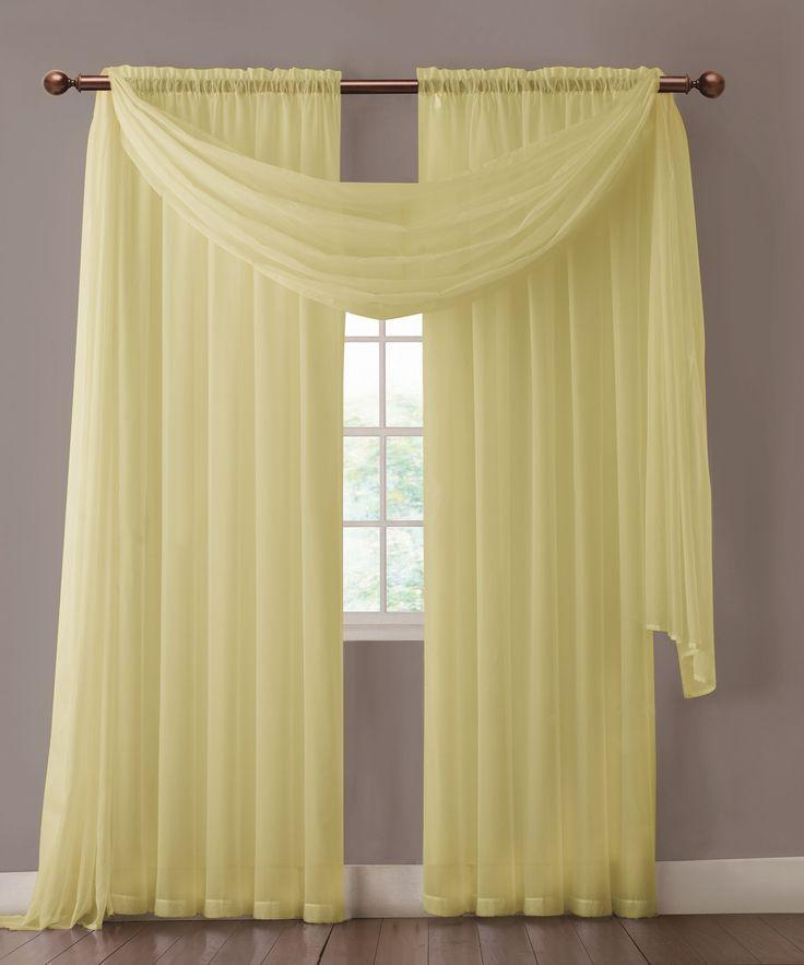 The 25+ best Sheer curtains ideas on Pinterest | Window treatments ...