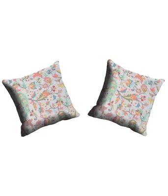 Mesleep Floral Multicoloured Cushion Cover Cushion Covers on Shimply.com