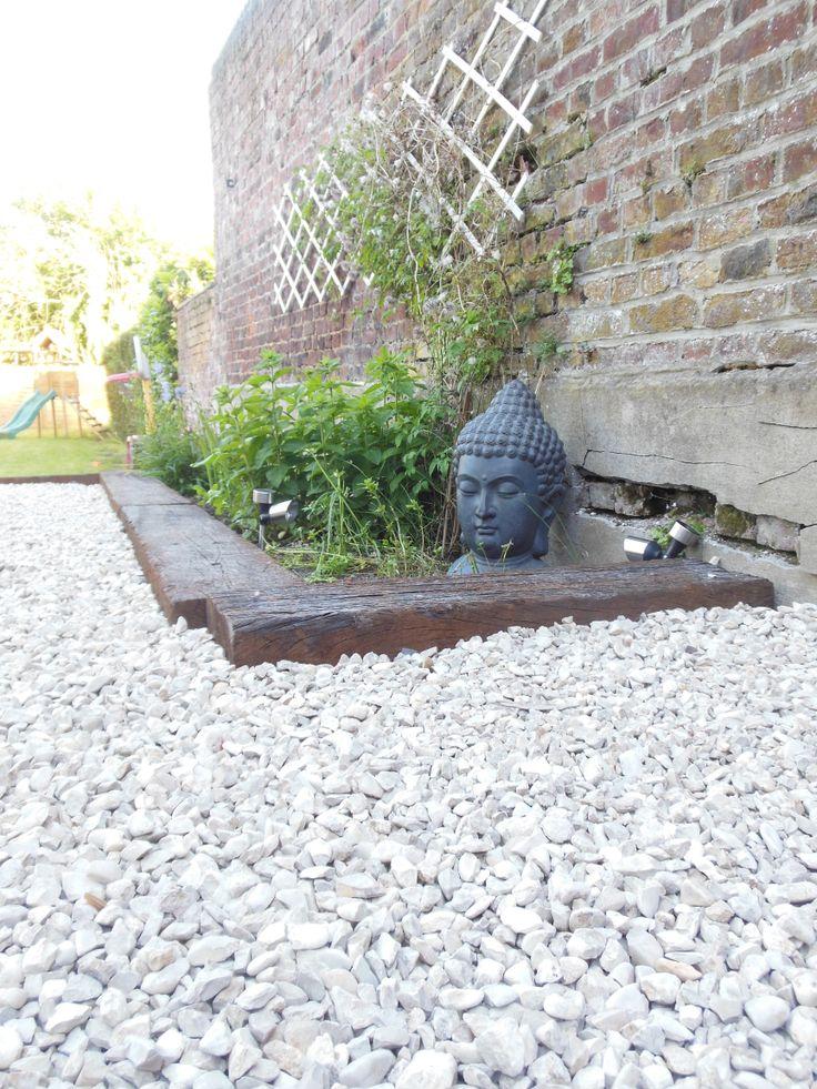 Boudha jardin zen