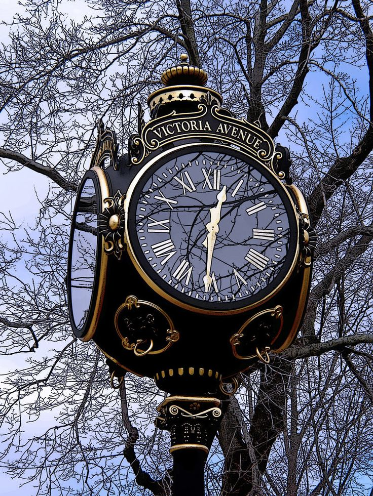 Bellevue Avenue Clock in Newport, RI #VisitRhodeIsland