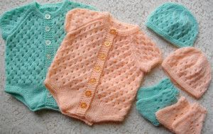 Lovely Knitted New Born Button Up Set - Craftsy http://knitting.myfavoritecraft.org/baby-patterns/