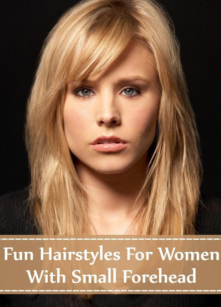 Hairstyles For Women With Small Forehead