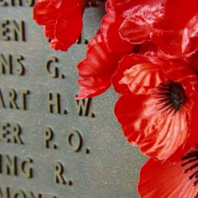 """""""At 11.00am, wherever we are... Australians will fall silent. We pause to remember the suffering and loss that's occurred in all wars. For we are a country of memory as well as memorials."""" - Tony Abbott #LestWeForget #RemembranceDay #Today9"""