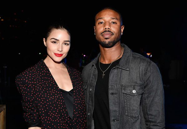 Michael B. Jordan Photos - Olivia Culpo and Michael B. Jordan celebrate Miami Art Week at the American Express Platinum House at The Miami Beach EDITION on December 7, 2017 in Miami Beach, Florida. (Photo by Frazer Harrison/Getty Images for American Express Platinum) * Local Caption * Olivia Culpo; Michael B. Jordan - Drake & Virgil Abloh Celebrate Miami Art Week At The American Express Platinum House At The Miami Beach EDITION