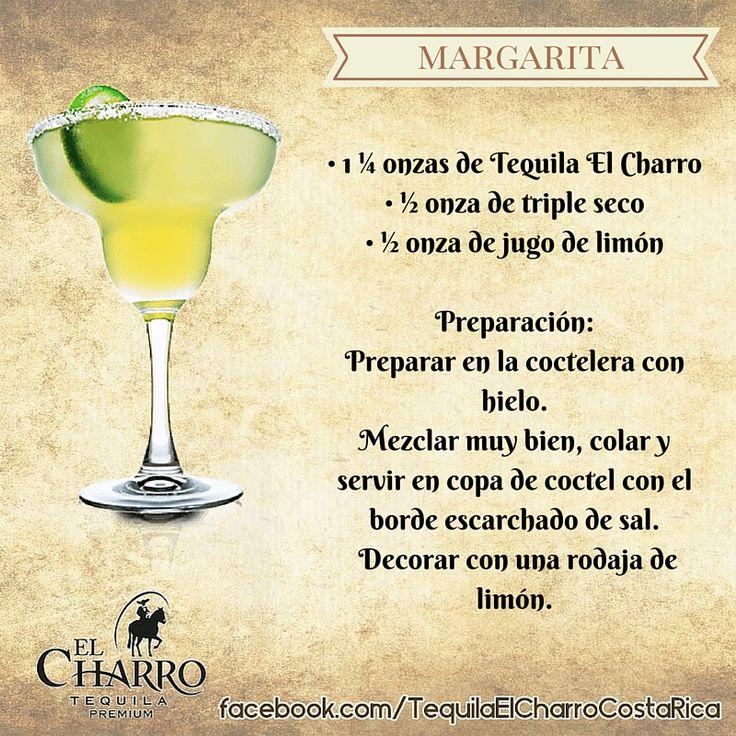 Margarita, con Tequila El Charro! #TequilaElCharro #Tequila #Coctel #Cocktail #Margarita