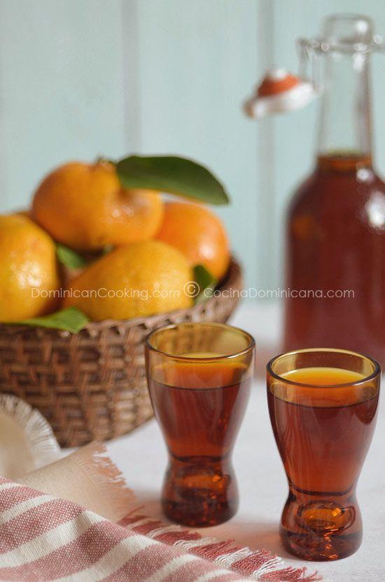 Mandarin orange liqueur