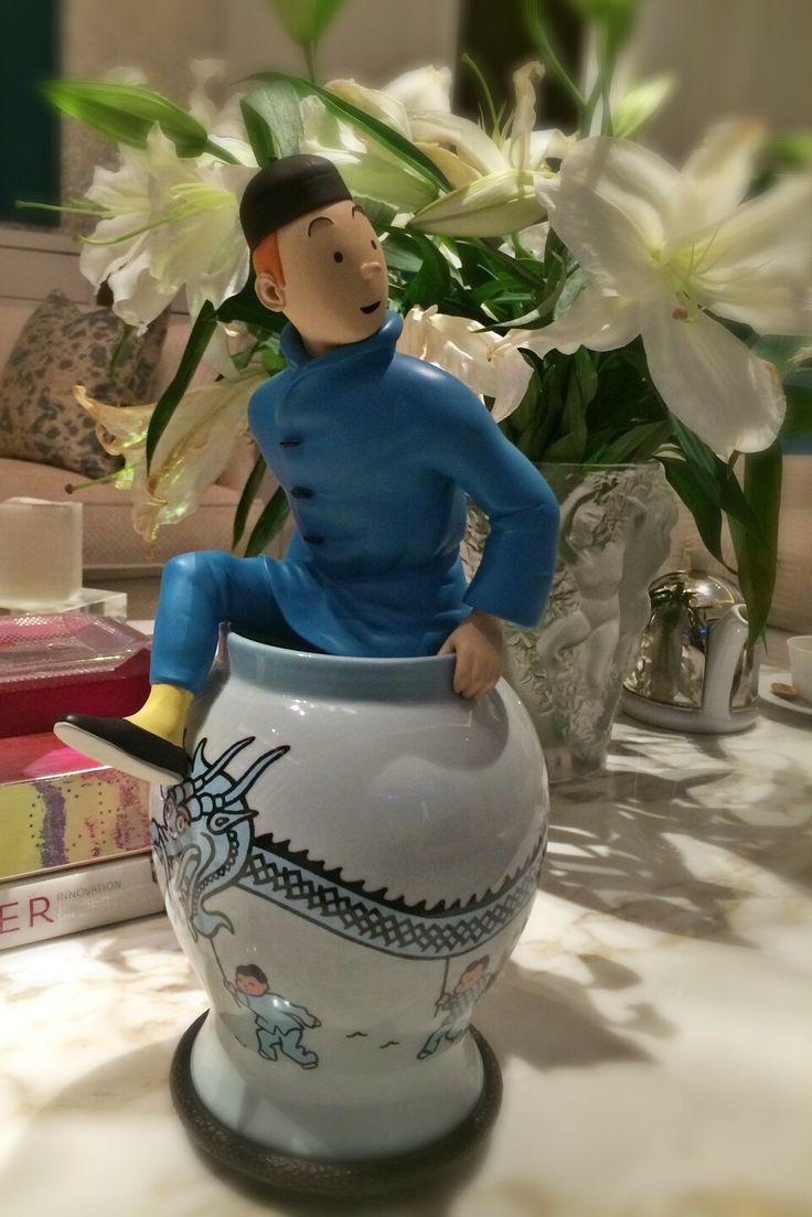 Tintin. Le Lotus Bleu