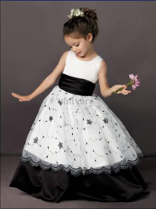 1000  ideas about Black Flower Girl Dresses on Pinterest - Girls ...