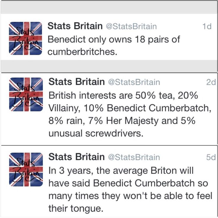 "miscellaynee: ""Oh Stats Britain… """