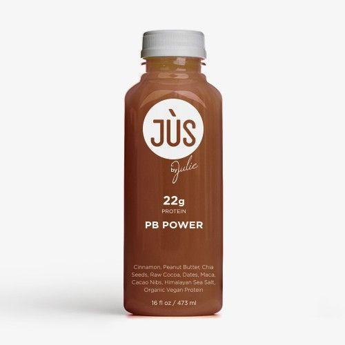 PB Power    Blended Cinnamon, Peanut Butter, Chia Seeds, Raw Cocoa , Dates, Maca, Cacao Nibs, Himalayan Sea Salt, Organic Vegan Protein