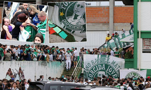 Chapecoense were travelling to take part in their first everCopa Sudamericana final in Medellin, Colombia when their plane crashed, killing 76 of the 81 members on board.