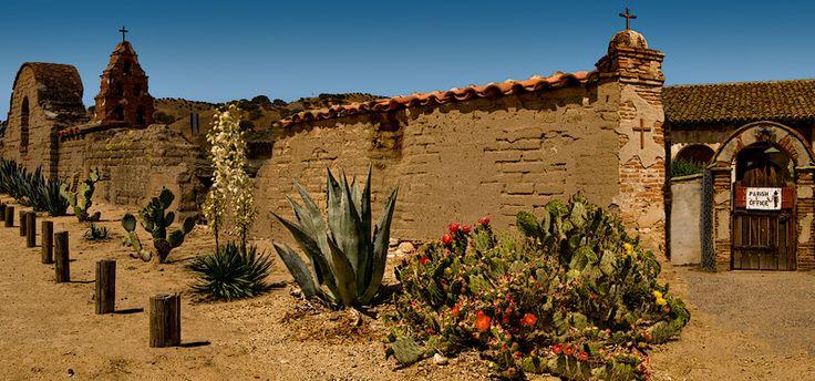 Mission San Miguel Arcángel - San Miguel, California, My Church.... :0)