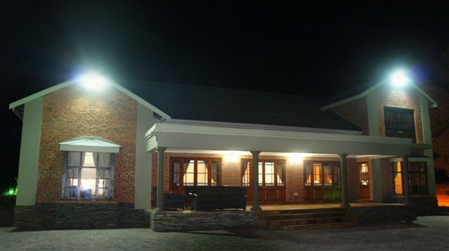 Exterior of Makarios Country Lodge, Bloemfontein.  Ideal for small events and guest that love the outdoors. http://www.bloemfonteinguide.co.za/makarios-country-lodge/