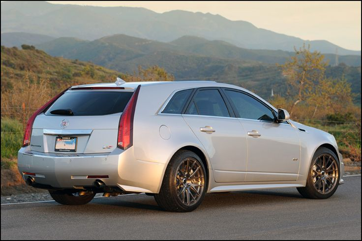 Cadillac CTS V Hennessey Sport Wagon My right foot is a