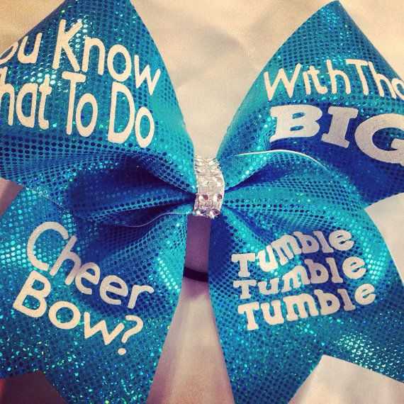 Big Cheer bow by CJBows on Etsy, $15.00