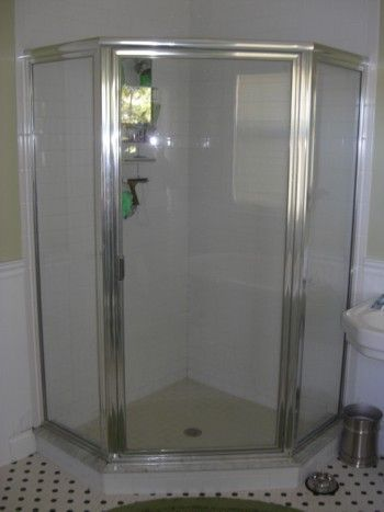 To Prevent Bumping Your Elbows In A Corner Shower Unit I Suggest