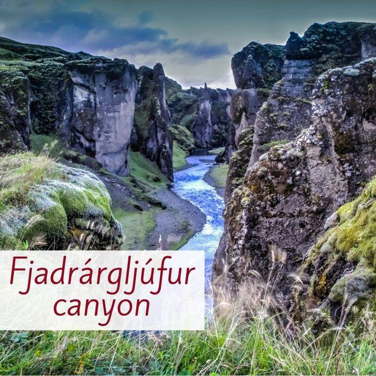 Fjadrargljufur canyon Islande 2